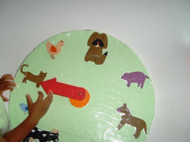 Fabrication de l'horloge des animaux